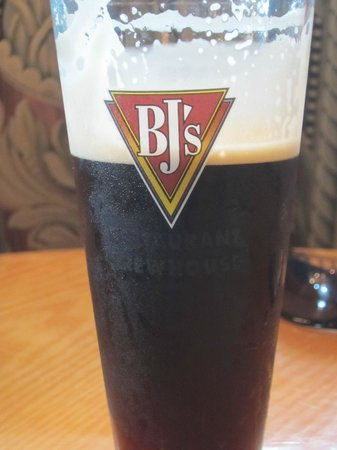 BJ's Restaurant & Brewhouse: Dark Beer- Made by BJ's.