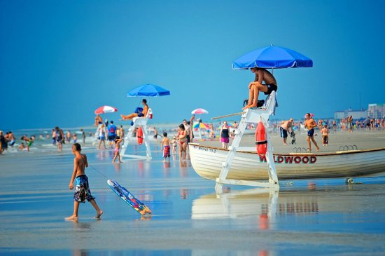 Well-guarded Beaches in the Wildwoods