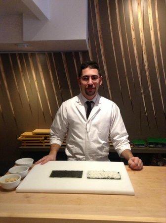 Futami:                   Sushi chef