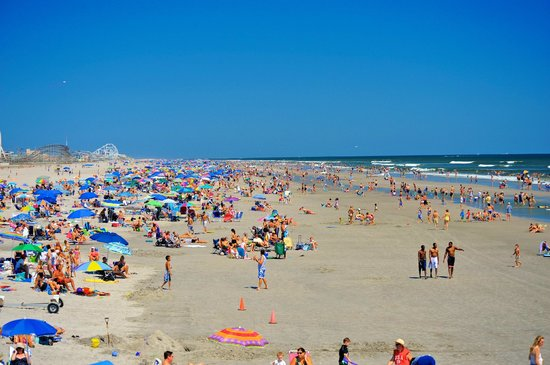 The Wildwoods Wide Expansive Beaches