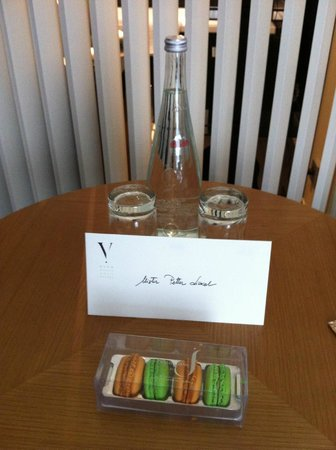 Five Seas Hotel Cannes:                                     Welcome note