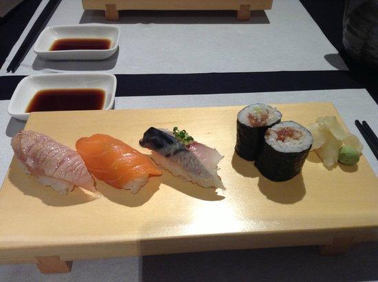 Futami:                   Subarashii o-sushi!