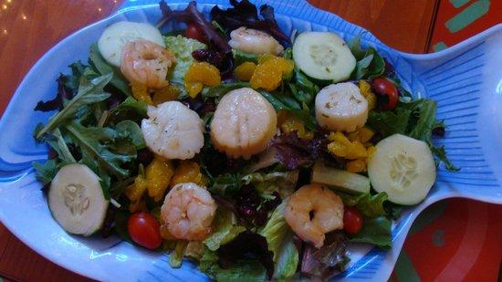 Key west salad picture of sanibel fish house sanibel for Sanibel fish house