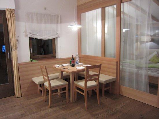 Johanneshof Hotel & Residence:                   soggiorno