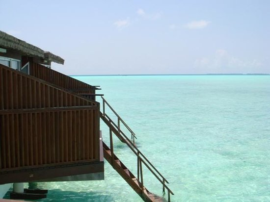 Hakura Club Island Resort:                   overwater