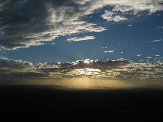 Hostel Sonati Leon:                                     beautiful sky