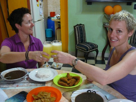 Casa Particular Isel e Ileana Havana:                   Cheers!