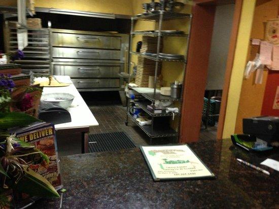 Mamma Mia Italian Restaurant & Pizzeria: Pizza Ovens -