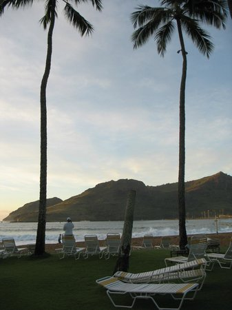 Kaua'i Marriott Resort:                   View