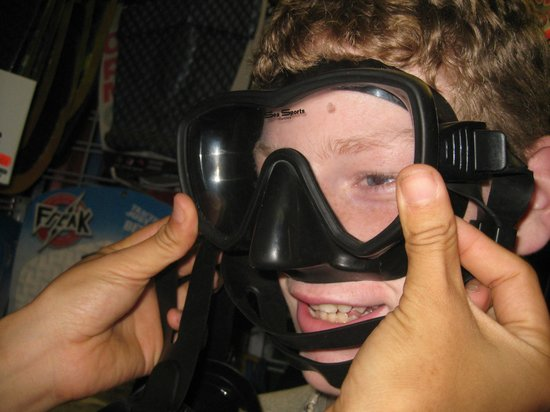 Miller's Snorkel and Surf:                   Personalized fitting for snorkel mask!