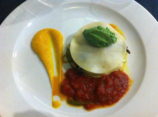 L'Effet Mer:                   Vegetarian Lasagna