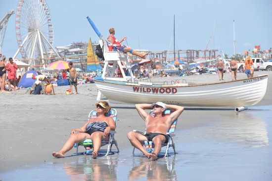 Wildwoods, NJ:                   Ah! It Doesn't Get Any Better Than This.