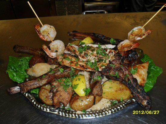 It's All Greek To Me: SPECIALTY PLATTER: 4 course of hand made greek food