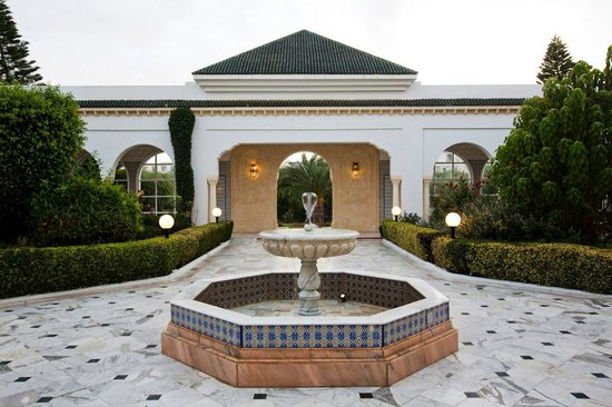 El Mouradi Palm Marina: Htel Entrance