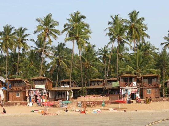Papillon Beach Huts:                                     view of Papillon from sea