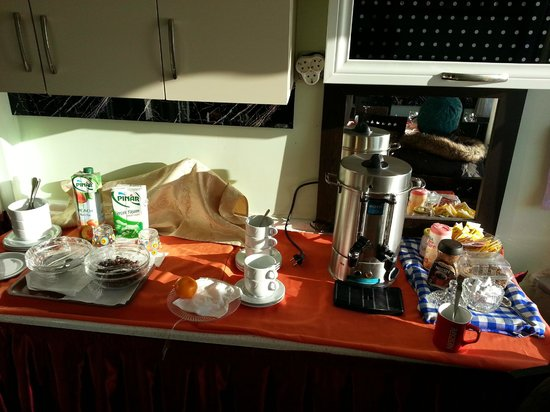 Chora Guesthouse:                   That is your extra food you can take as well for breakfast