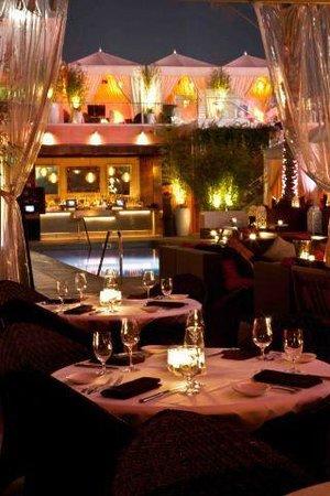 Drai's Hollywood : Dinner Poolside