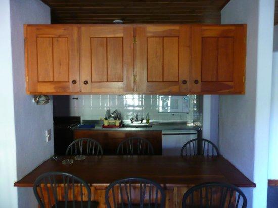 Hostería del Cerro:                   La cocina