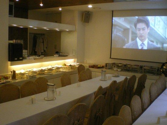 Mate Hotel Seoul: Frühstück