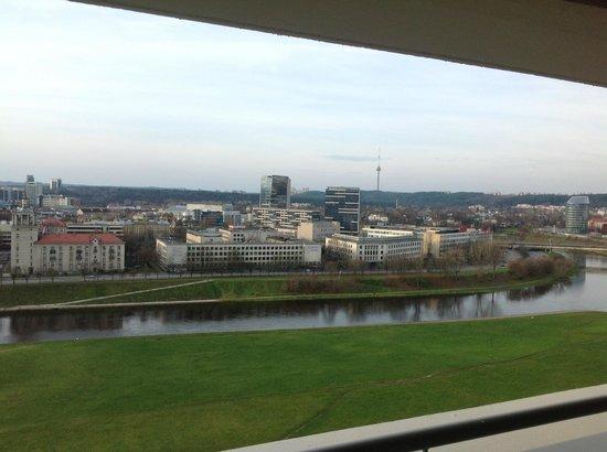 Radisson Blu Hotel Lietuva: Balcony 1