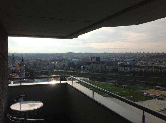 Radisson Blu Hotel Lietuva: Balcony 6