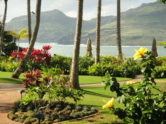 Marriott's Kauai Lagoons - Kalanipu'u:                   The view from our villa