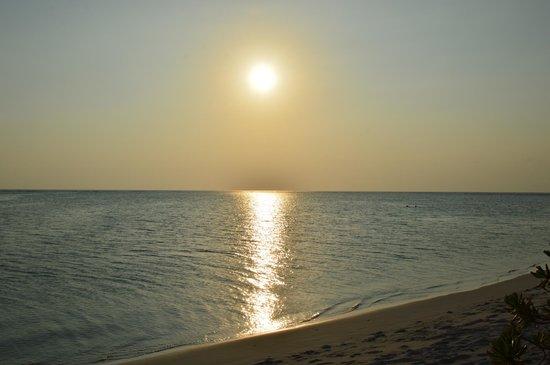 Manta Point: Coucher de soleil