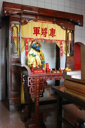 Gunung Timur Temple:                   The Altar