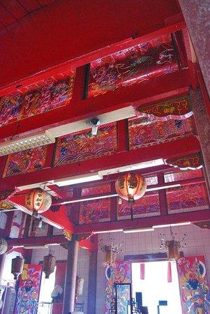 Gunung Timur Temple:                   The Ceiling