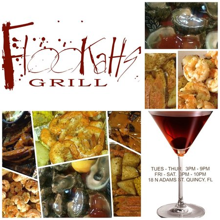 Flookahs Oyster Bar and Grill: Seafood & Barbecue Feast