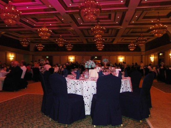 Al Raha Beach Hotel:                   Silver Blue NY function room