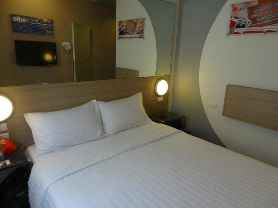 Red Planet Pattaya:                   ベッド