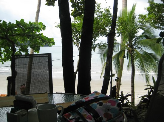 Tulemar Bungalows & Villas:                                     a view from the beach bar/cafe