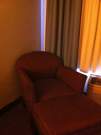 Super 8 College Park/Atlanta Airport West:                   Wouldn't want to sit here!