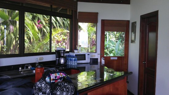 Tulemar Bungalows & Villas:                                     Entry from inside of #306 villa