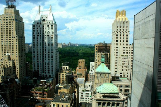 Le Parker Meridien New York:                   Central Park View from room