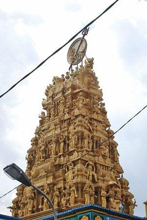 Shri Mariamman Temple:                   The Temple