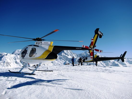 Tekapo Helicopters -  Tours : Snow Landings