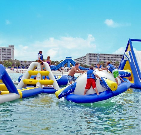 Floating Water Park St Pete Beach 2018 All You Need