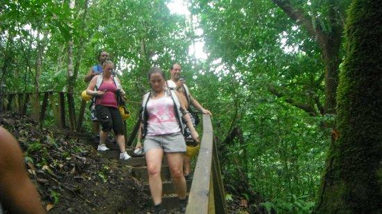 Damajaqua Cascades (27 Waterfalls): notre gang