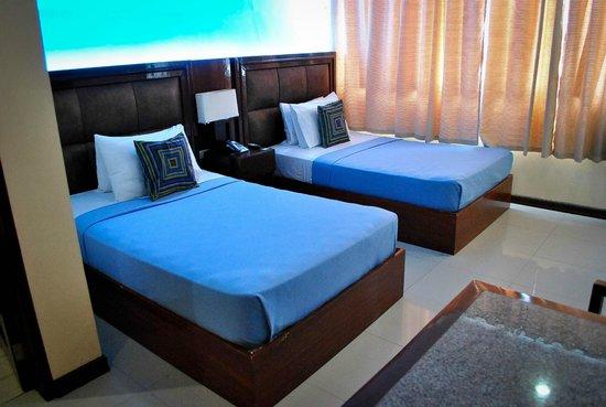 Sky Garden Hotel:                   my room