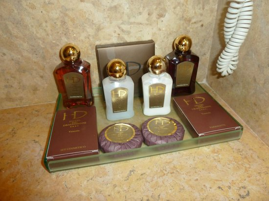 Hotel Dei Dragomanni: Toiletries