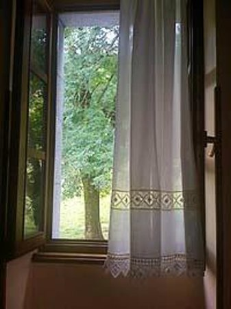 Hotel Irigoienea:                   I love waking up and looking out this window.