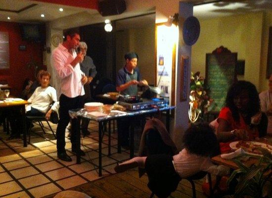 Sofia Restaurante Mediterraneo Arte & Cultura: Noche de Barcelona con leccion de cocina