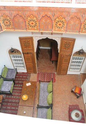 Riad Safir:                   salle à manger