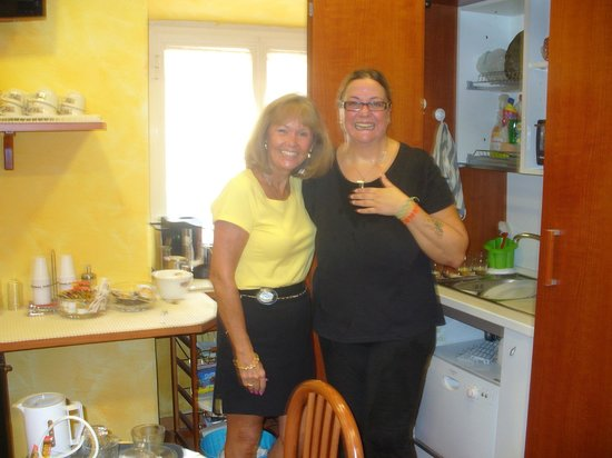 A View of Rome :                                                       In the dining room with Luisa!