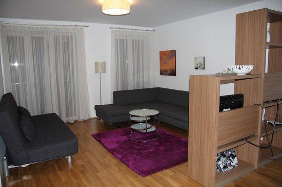 Diamond Apartments Budapest:                   Зона отдыха.