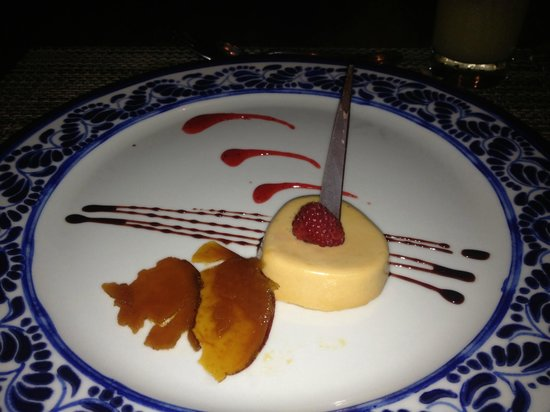 Now Amber Puerto Vallarta:                                     The art of dessert