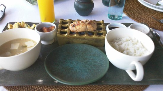 The Damai :                   Japanese breakfast