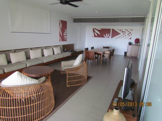 InterContinental Fiji Golf Resort & Spa: club suite living area